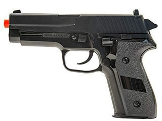 Firepower Interrogator Spring Powered Airsoft Pistol  260 FPS  Black