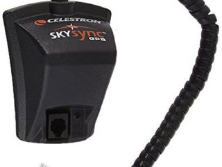 Celestron   SkySync Telescope GPS Accessory Automatically Updates your Telescope with 16 channel GPS Data  Time  and Date   Save Time   Improve the Accuracy of your Telescope Alignment  Black  93969