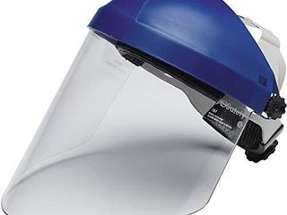 3M Ratchet Headgear H8A with Clear Polycarbonate Faceshield WP96