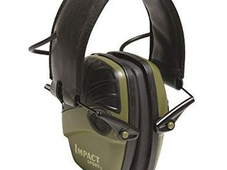 Howard leight by Honeywell Impact Sport Sound Amplification Electronic Shooting Earmuff  Green