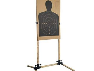 Highwild Adjustable Target Stand Base for Paper SHighwild Adjustable Target Stand Base for Paper Shooting Targets Cardboard Silhouette   USPSA IPSC   IDPA Practice  1 Set