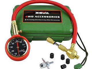 X BUll Automatic Adjustable Tire Pressure Gauge Tire Air Deflators Operating Range 70PSI