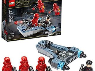 lEGO Star Wars Sith Troopers Battle Pack 75266 Stormtrooper Speeder Vehicle Building Kit  New 2020  105 Pieces