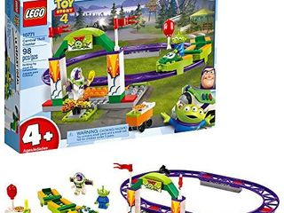 lEGO   Disney Pixars Toy Story 4 Carnival Thrill Coaster 10771 Building Kit  98 Pieces