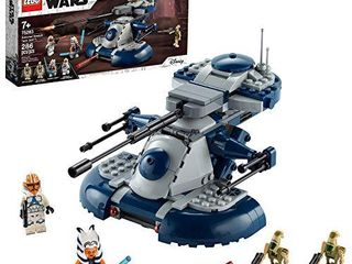 lEGO Star Wars  The Clone Wars Armored Assault Tank  AAT  75283 Building Kit  Awesome Construction Toy for Kids with Ahsoka Tano Plus Battle Droid Action Figures  New 2020  286 Pieces
