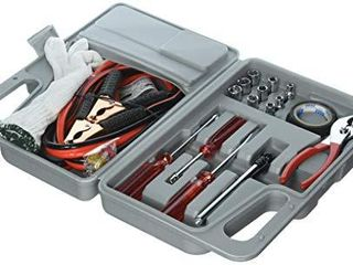 Tank Technology Roadside Emergency Tool and Auto Kit 30 Piece