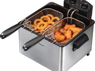 Hamilton Beach Stainless Steel 4 5 liter Professional Deep Fryer Retail 79 98