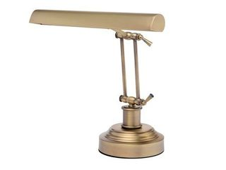 Cocoweb14  lED Piano Desk lamp with Dimmer   Antique Brass   Retail   257 00
