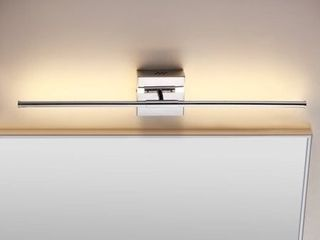 Makena 28  Dimmable Integrated lED Wall Sconce  Chrome by JONATHAN Y   Retail 75 76