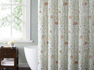 Style 212 Bedford Blue 72  x 72  Shower Curtain   Retail   20 00