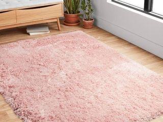Pink Puffy Rug   Retail  54 74