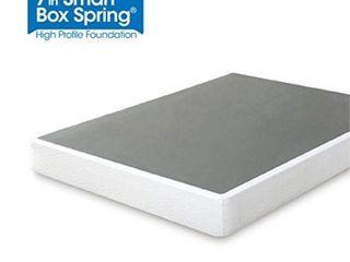 Zinus 7 Inch Smart Box Spring Mattress Foundation   Queen   Retail   123 99