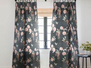 Holli Zollinger Floralista Blackout Curtain Panel Retail 82 49