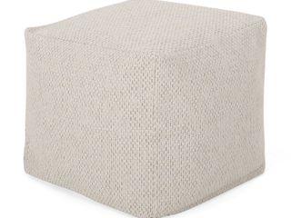Camrose Contemporary Fabric Pouf Retail   67 21