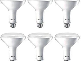 EcoSmart 75 Watt Equivalent BR40 Dimmable lED light Bulb Daylight  6 Pack