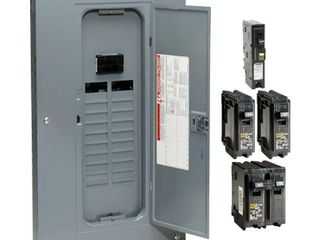 Square D 40 Circuit 20 Space 100 Amp Main Breaker load Center  Value Pack