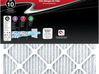 14 x 14 x 1 Elite Allergen Pleated FPR 12 Air Filter