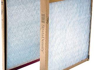 American Air FIlter 20  X 20  X 1  Strata Density Fiberglass Air Filters Sold in packs of 12