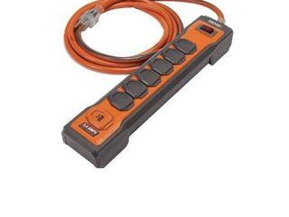 Ridgid 6 Outlet Surge Protector Plus USB