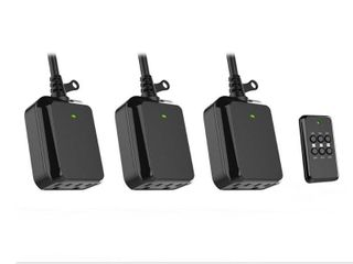 Defiant Wireless Indoor Outdoor Remote Control with 3 RCV