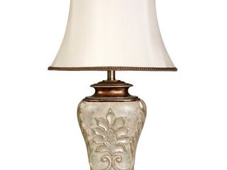 Magonia Antique White With Gold Accents Table lamp