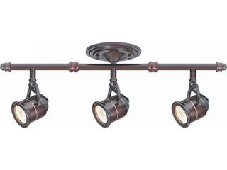 Hampton Bay 3 light Antique Bronze Ceiling Bar Track lighting Kit