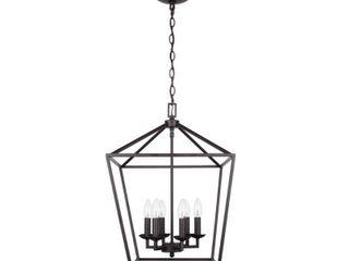 Home Decorators Collection Weyburn 6 light Bronze Caged Chandelier