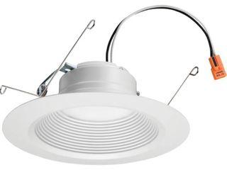 lithonia lighting 65Be led 90Cri M6 E Series Recessed 5 6  led Ic Rated Baffle 2pks