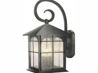 Home Decorators Collection Brimfield 3 light Aged Iron Outdoor Wall lantern