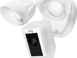 Ring Wired Floodlight Cam   White