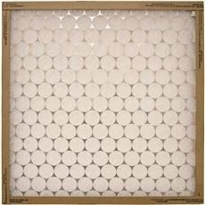 Flanders Ez Flow Merv 4 Flat Panel Fiberglass Air Filter  20X25X2 In  12 Per Case
