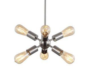 Jonathan Y Jobs Sputnik Metal led Pendant