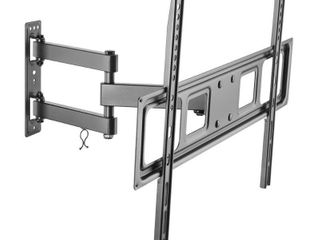 Inland 05413 Economy Full Motion TV Wall Mount for Curved and Flat Panel TVs up to 70