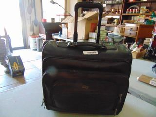 leather   Carry On Travel Bag