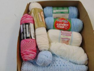 large Selection of yarn  Redheart  Bernat and more