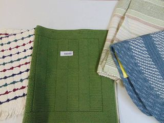 selection of rugs and bathmats