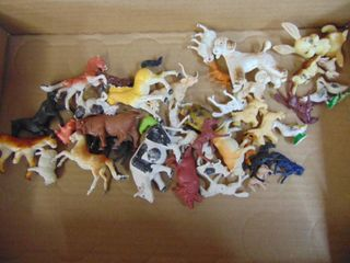 Farm animal figurines and more