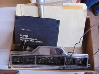 Vintage Gauge Cluster   Realistic Microphone and more