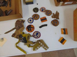 Corn Shuckers and Military Patches