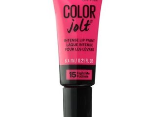 Maybelline lip Studio Color Jolt Intense lip Paint  Fight Me Fuchsia  0 21 Fl Oz