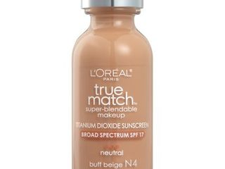 l Oreal Paris True Match Super Blendable Foundation Makeup  Buff Beige  1 fl  oz