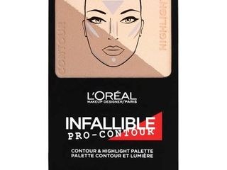 l OrAcal Paris Infallible Pro Contour Palette 813 light Claire  24oz