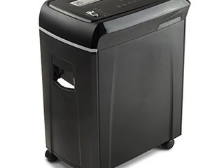 Aurora AU1020MA High Security 10 Sheet Micro Cut Paper  CD and Credit Card Shredder with Pullout Basket