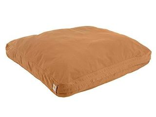 Carhartt Durable Canvas Dog Bed  Premium Pet Bed With Water Repellent Coating  large  Carhartt Brown