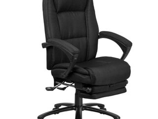 Delacora Ff Bt 90288H 27  Wide Fabric Executive Swivel Chair
