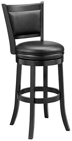 Ball   Cast Bar Stool  29 inch 1 pack  Black