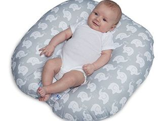 Boppy Original Newborn lounger  Elephant love Gray