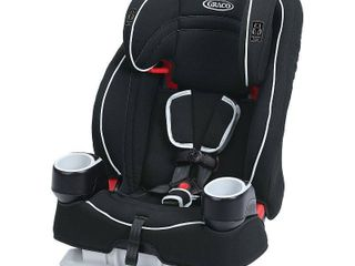 Graco Atlas 65 2 in 1 Harness Booster Car Seat  Glacier Black