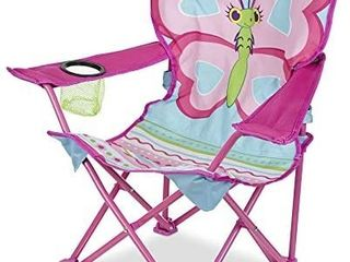 Melissa   Doug Cutie Pie Butterfly Camp Chair