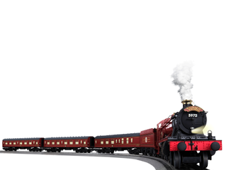 lionel O Scale Hogwarts Express with Remote and Bluetooth Capability Electric Powered Model Train Set
